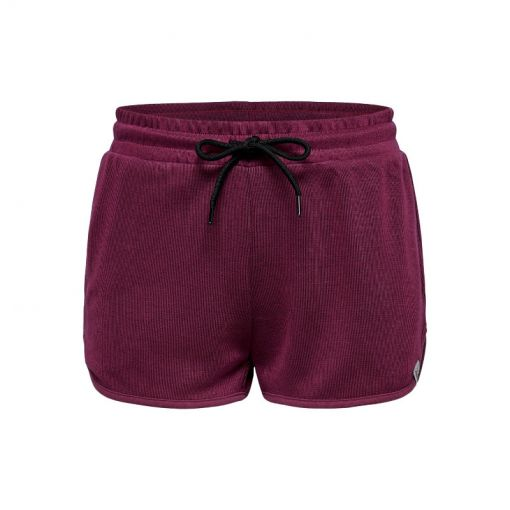 Only play dames short Jenna Sweat - Beet Red