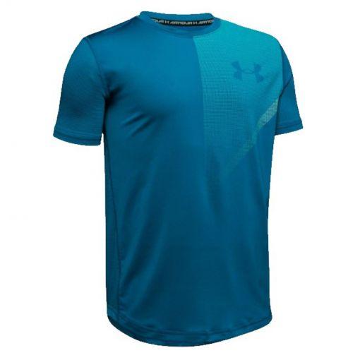 Under Armour heren t-shirt Raid Short Sleeve Tee - 417 Green