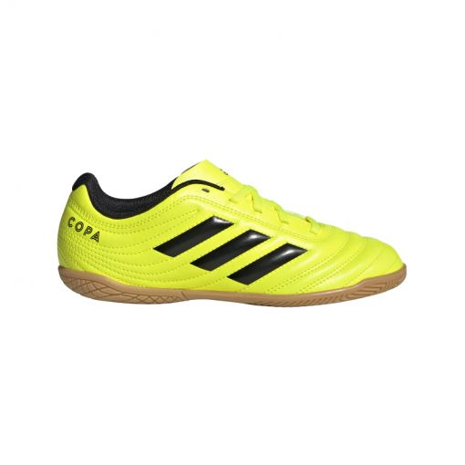 Adidas zaalvoetbalschoen Copa 19.4 IN junior - geel