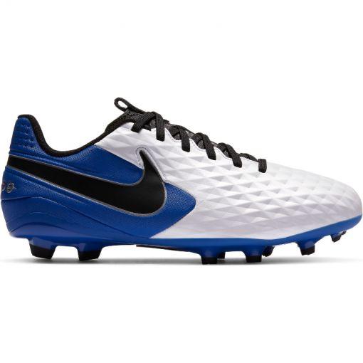 Nike junior voetbalschoen Legend 8 Academy FG - Wit
