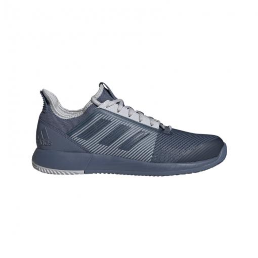 Adidas heren gravelschoenen Defiant Bounce M Clay - blauw