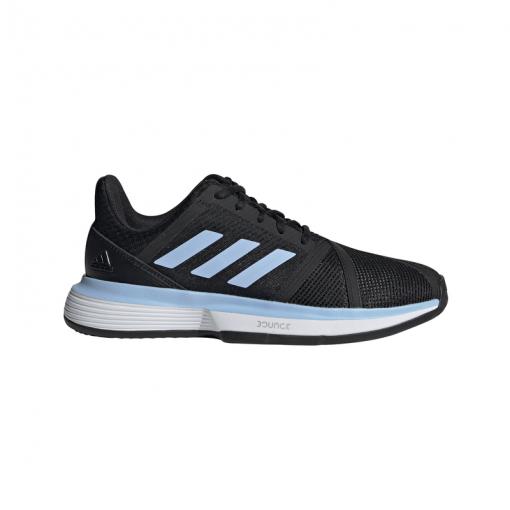 Adidas dames gravelschoen Courtjam Bounce W Clay - Zwart