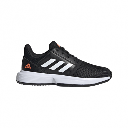 Adidas junior gravelschoenen Courtjam XJ - Zwart