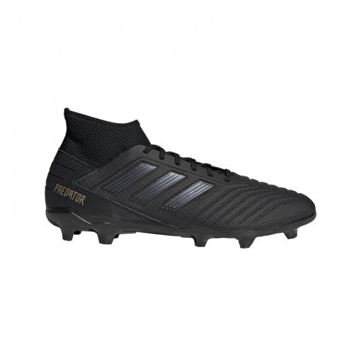 Adidas voetbalschoen Predator 19.3 FG - CBLACK/CBLACK/GOL CBLACK/CBLAC