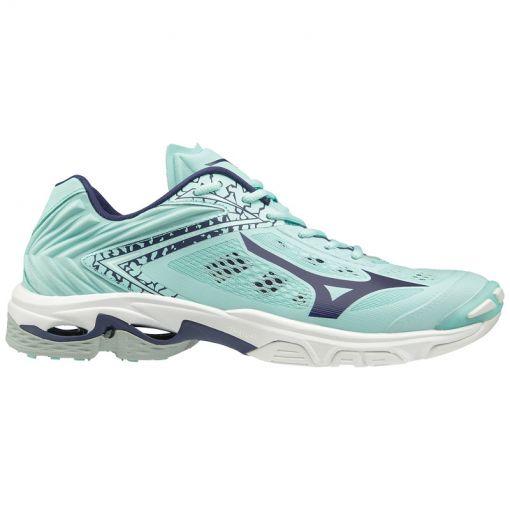 Mizuno dames indoorschoenen Wave Lightning Z5 - Licht blauw