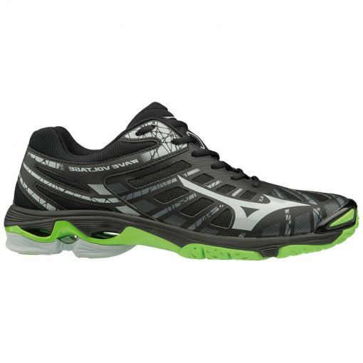 Mizuno heren indoorschoenen Wave Voltage - Zwart