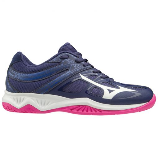 Mizuno dames indoorschoenen Thunder Blade 2 - Blauw