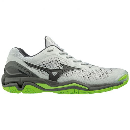 Mizuno heren indoorschoen Wave Stealth V - Grijs