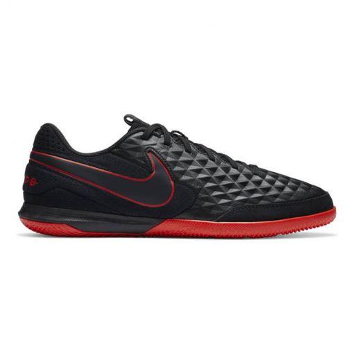 Nike senior zaalvoetbalschoen Legend 8 Academy - 060 Black/Dk Smoke