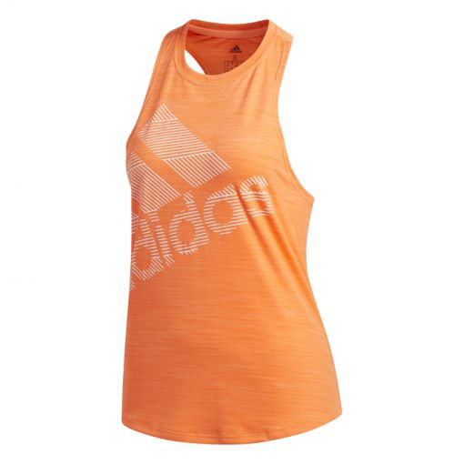 Adidas dames fitness singlet BOS LOGO TANK - HIRECO