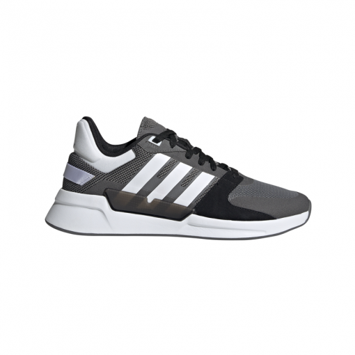 Adidas heren hardloopschoenen RUN90S - GREFOU/FTWWHT/GRE GREFOU/FTWWH