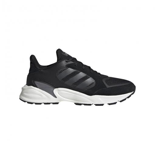 Adidas damesvt schoen 90s Valasion - CBLACK/NGTMET/GRE CBLACK/NGTME
