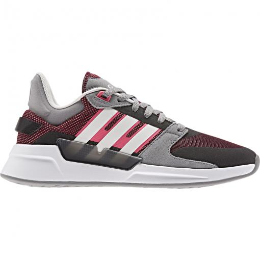 Adidas dames schoen RUN90S - GRETHR/CLOWHI/REA GRETHR/CLOWH