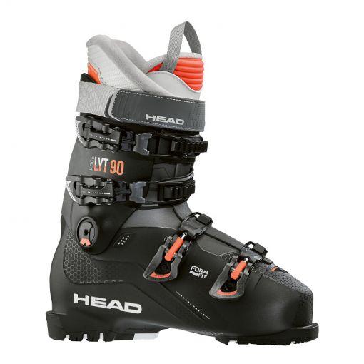 Head dames skischoen Edge LYT 90 W - Black/Salmon