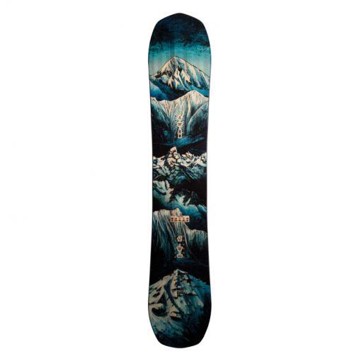 Jones snowboard Frontier - Zwart