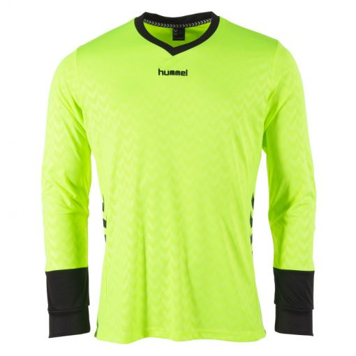 Hummel keepershirt Hannover - 4810 Neon Yellow/Black