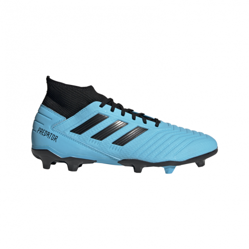 Adidas voetbalschoen Predator 19.3 FG - BRCYAN/CBLACK/SYE BRCYAN/CBLAC