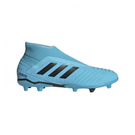 Adidas voetbalschoen Predator 19.3 LL FG - BRCYAN/CBLACK/SYE BRCYAN/CBLAC