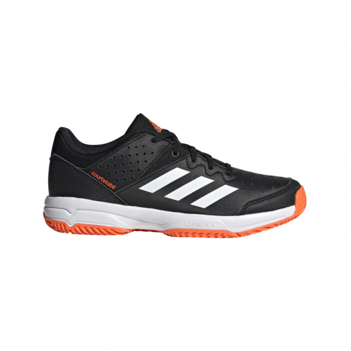 Adidas junior indoorschoen Court Stabil - Blauw
