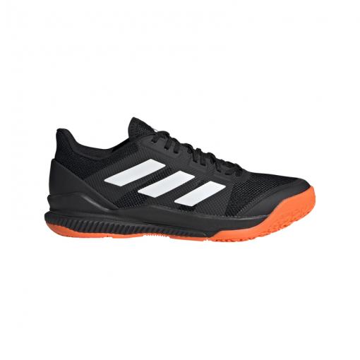 Adidas heren indoorschoen Stabil Bounce - CBLACK/FTWWHT/SOR CBLACK/FTWWH