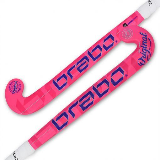 Brabo junior hockeystick O'Geez - Roze