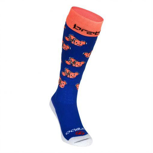 Brabo hockey sokken Fishes - Blauw