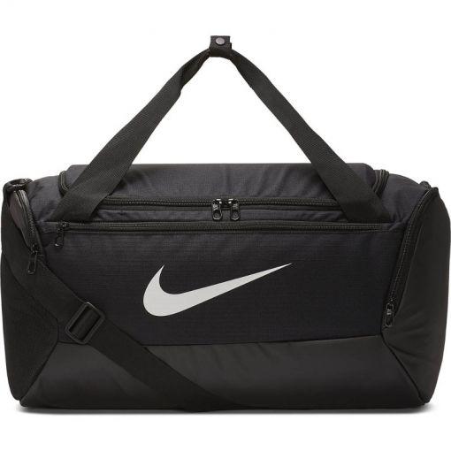 Nike sporttas Brasilia Training - Zwart