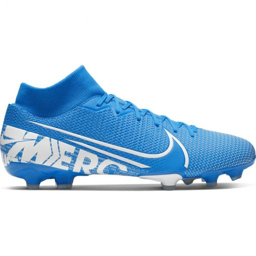 Nike voetbalschoen Superfly 7 Academy FG/MG - 414 BLUE HERO/WHITE-OBSIDIAN