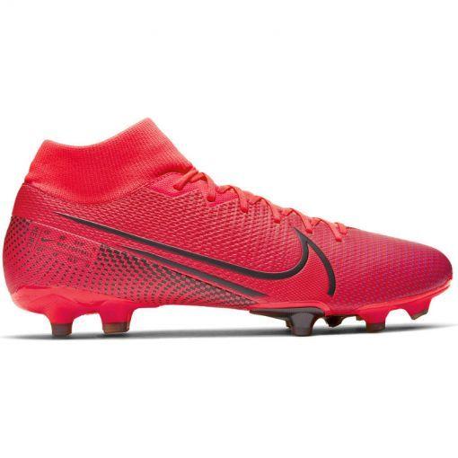 Nike voetbalschoen Superfly 7 Academy FG/MG - 606 Laser Crimson/Black