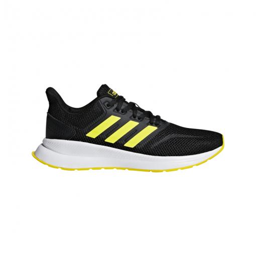 Adidas junior schoen Runfalcon K - CBLACK/SHOYEL/SHO CBLACK/SHOYE