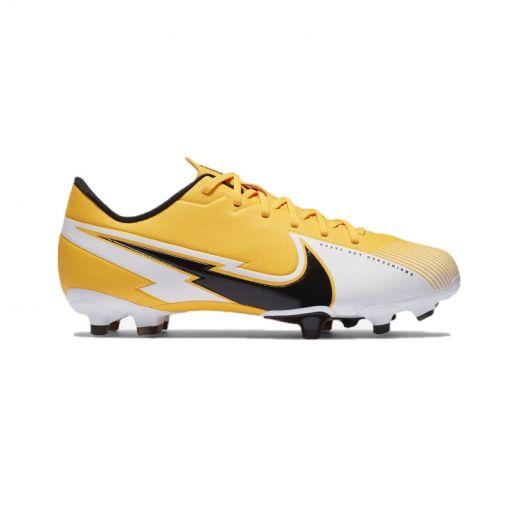Nike junior voetbalschoen Vapor 13 Academy FG/MG - 801 Laser Orange/Black