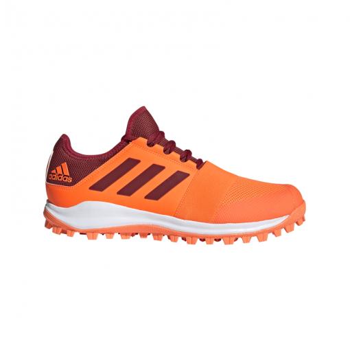 Adidas dames hockeyschoen Divox 1.9S - Orange/Maroon