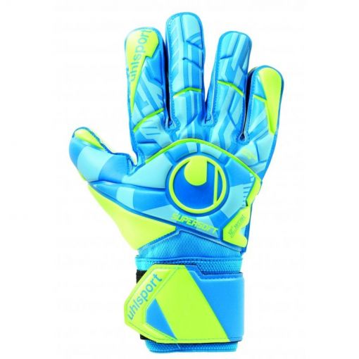 Uhlsport keepershandschoen Radar Control Supersoft - Blauw