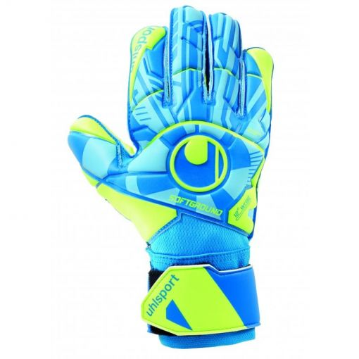 Uhlsport keepershandschoen Radar Control Soft Pro - Blauw