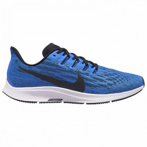 Nike heren hardloopschoen Air Zoom Pegasus - 400 Racer Blue/White