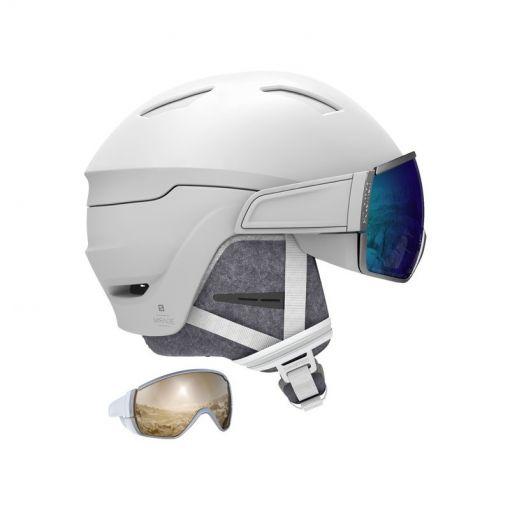 Salomon senior ski helm Mirage - wit