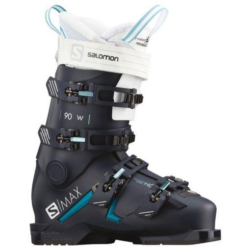 Salomon dames skischoen S/Max 90 W - STD Petrol-Blue-SCUBA-BLUE-Whi