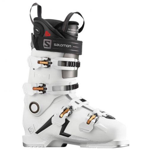 Salomon dames skischoen S/Pro 90 CHC W - STD White-Golden-Glow-Metallic
