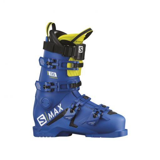 Salomon heren skischoen Boots S/Max 130 - Carbon Raceblue