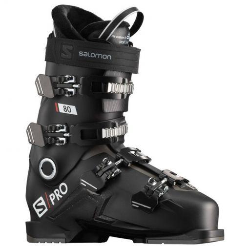 Salomon heren skischoen Boots S/Pro 80 - Zwart