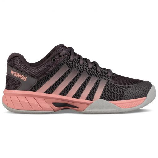K-Swiss dames tennisschoen TFW Expres Light Carpet - STD Plum-Kitten-Coral-Almond-G
