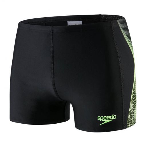 Speedo heren zwembroek Placem Aqua Splash - C715 Bla/Yel