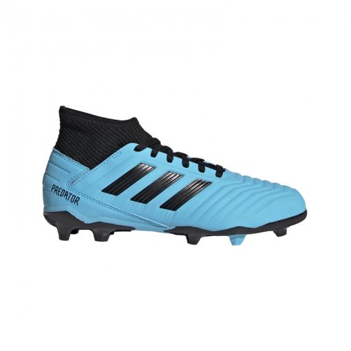 Adidas voetbalschoen Predator 19.3 FG junior - Brcyan