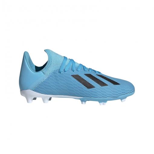 Adidas voetbalschoen X 19.3 FG junior - Brcyan