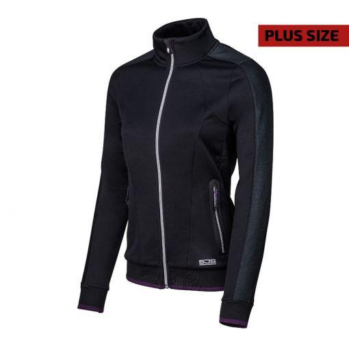 Sjeng Sports dames tennis vest Shila Plus size - Zwart