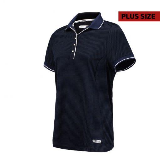 Sjeng Sports dames tennis polo Slam Plus size - Navy