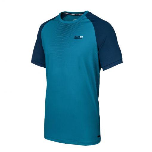 Sjeng Sports heren tennis shirt Terrell - Donker blauw