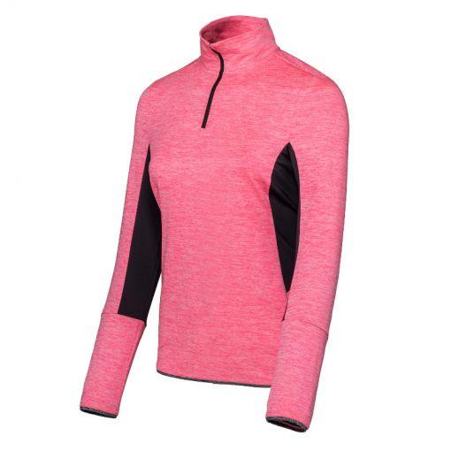 Sjeng Sports dames tennis shirt Thess Plus size - P069 popstar pink melange
