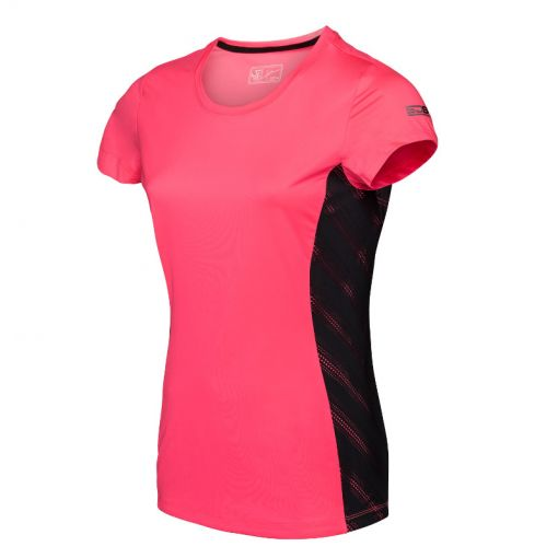 Sjeng Sports dames t-shirt Tiggy - P068 popstar pink
