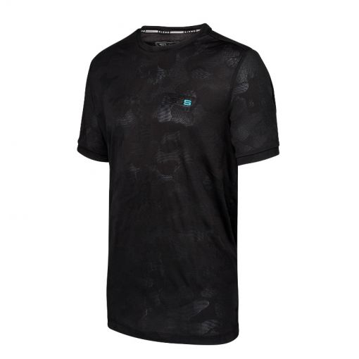 Sjeng Sports heren t-shirt Turro - Zwart